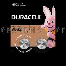 Duracell specialty 2032 lithium battery 3V, 2 pcs