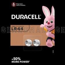 Duracell LR44 Alkaline batteries, 2 pcs