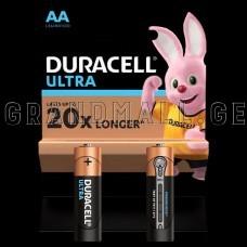 Duracell Ultra AA Alkaline batteries (2 pc.)