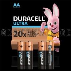 Duracell Ultra AA Alkaline batteries (4 pc.)