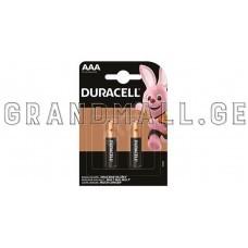 Duracell AAA Alkaline batteries (2 pc.)