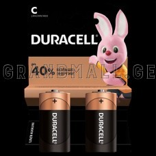 Duracell C Alkaline batteries (2 pc.)