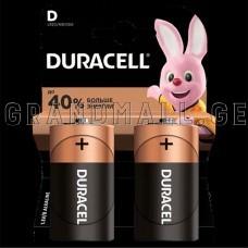 Duracell D Alkaline batteries (2 pc.)