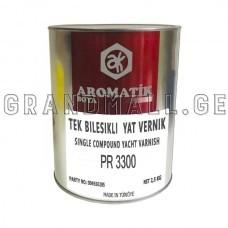 Yacht varnish Aromatik Boya PR3300
