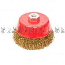 Metal Circular brass coated cup wire brush for grinder
