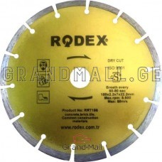 Diamond blade Rodex ∅ 180 mm