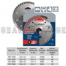 Diamond blade Wkret-met Medium TDS ∅ 115 mm; ∅ 125 mm