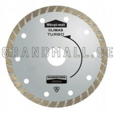 Diamond blade Wkret-met Turbo TDT ∅ 115 mm; ∅ 125 mm