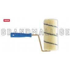 Velvet paint roller with handle DeKOR
