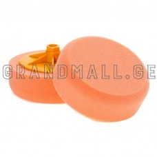 Car polishing sponge with yellow frame150X50mm M14