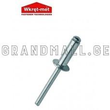 Open end blind rivet Wkret-Met 4.8x10 mm.