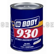 Mastic BODY 930 Bitumen underbody coating