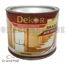 Alkyd enamel for the floor Dekor  ПФ-266 0.8 kg; 2.6 kg