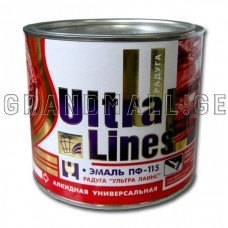 Ultra Lines Enamel alkyd ПФ-115 0.8 кг ; 2,8 кг