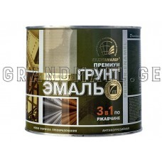 Enamel soil on rust 3 in 1, Радуга 0.9 kg ; 2,7 kg