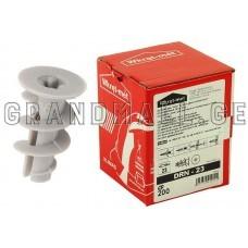 Plasterboard Nylon Plugs Wkret-met DRN-23 8x23 mm
