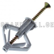 Dowel butterfly for drywall with screw Wkret-met GKW 10X50 mm