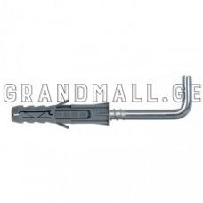 Дюбель распорный с прямым крюком Wkret-met PX-06 6x30/40 мм